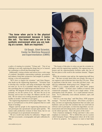 Marine Technology Magazine, page 45,  Nov 2012 Rob Been