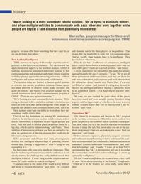 Marine Technology Magazine, page 46,  Nov 2012 North Atlantic Treaty Organization