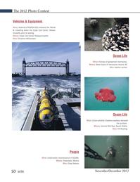 Marine Technology Magazine, page 50,  Nov 2012 West Coast
