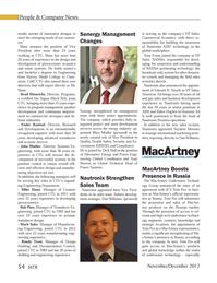 Marine Technology Magazine, page 54,  Nov 2012 Tony Evans