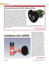 Marine Technology Magazine, page 56,  Nov 2012 TrackLink