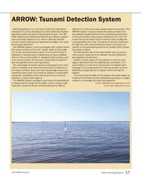 Marine Technology Magazine, page 57,  Nov 2012 satellite transmission