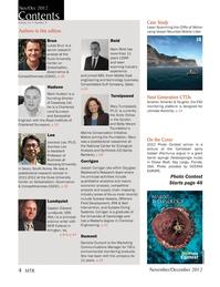 Marine Technology Magazine, page 4,  Nov 2012
