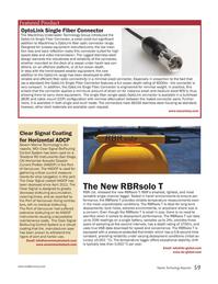 Marine Technology Magazine, page 59,  Nov 2012 rugged stainless steel design