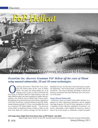 Marine Technology Magazine, page 8,  Jan 2013 Miami-Dade County