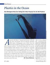 Marine Technology Magazine, page 12,  Jan 2013 Jonathan Waterman
