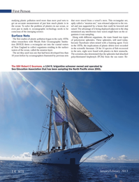 Marine Technology Magazine, page 14,  Jan 2013 Sea Education Association