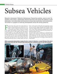 Marine Technology Magazine, page 24,  Jan 2013 main-stream consumer media channels