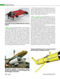 Marine Technology Magazine, page 26,  Jan 2013
