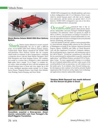Marine Technology Magazine, page 26,  Jan 2013 William Kohnen