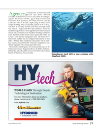 Marine Technology Magazine, page 29,  Jan 2013 Ageotec