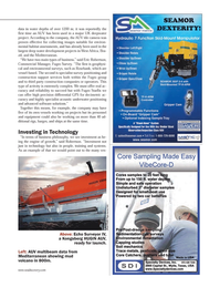 Marine Technology Magazine, page 37,  Jan 2013 construction support services
