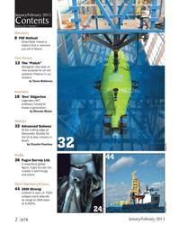 Marine Technology Magazine, page 2,  Jan 2013 Brazil