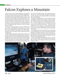 Marine Technology Magazine, page 40,  Jan 2013 South East Spain