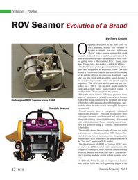 Marine Technology Magazine, page 42,  Jan 2013 Terry Knight Redesigned