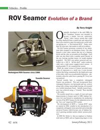 Marine Technology Magazine, page 42,  Jan 2013