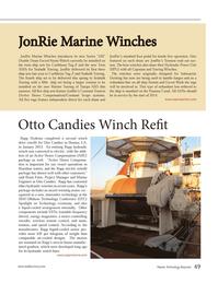 Marine Technology Magazine, page 49,  Jan 2013 Louisiana