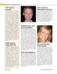 Marine Technology Magazine, page 50,  Jan 2013 Massachusetts