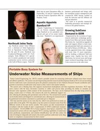 Marine Technology Magazine, page 51,  Jan 2013 Jesse Spence