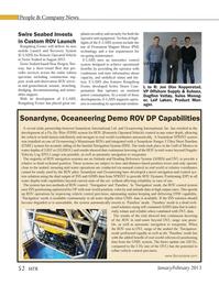Marine Technology Magazine, page 52,  Jan 2013 Jon Olav Kopperstad