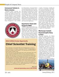 Marine Technology Magazine, page 54,  Jan 2013 Vehicle University