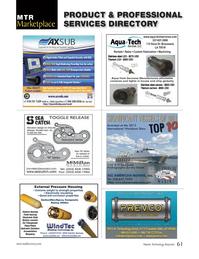 Marine Technology Magazine, page 61,  Jan 2013 flash