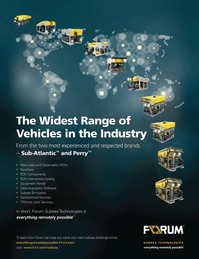 Marine Technology Magazine, page 4th Cover,  Jan 2013