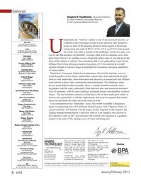 Marine Technology Magazine, page 6,  Jan 2013 Michelle Howard mhoward