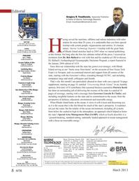 Marine Technology Magazine, page 8,  Mar 2013 Edward Lundquist