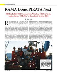 Marine Technology Magazine, page 26,  Mar 2013 Florida