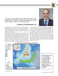 Marine Technology Magazine, page 47,  Mar 2013 Block Island