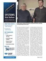 Marine Technology Magazine, page 58,  Mar 2013 Karl Kenny