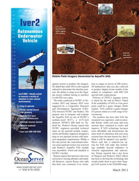 Marine Technology Magazine, page 60,  Mar 2013 real array side-scan systems