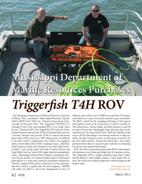 Marine Technology Magazine, page 62,  Mar 2013 Eric Broussard