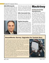 Marine Technology Magazine, page 68,  Mar 2013 Northwest