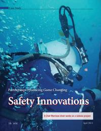 Marine Technology Magazine, page 16,  Apr 2013