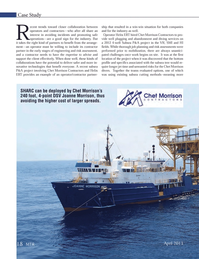 Marine Technology Magazine, page 18,  Apr 2013 Chet Morrison