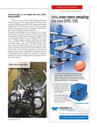Marine Technology Magazine, page 27,  Apr 2013 Pipeline Congresses