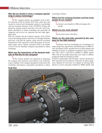 Marine Technology Magazine, page 28,  Apr 2013