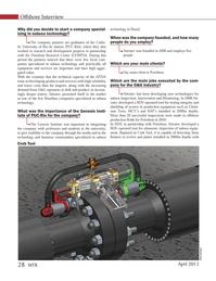 Marine Technology Magazine, page 28,  Apr 2013 University of Rio de Janeiro