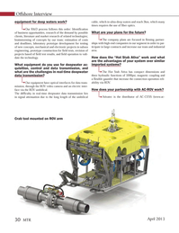 Marine Technology Magazine, page 30,  Apr 2013 Ativatec