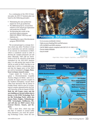 Marine Technology Magazine, page 33,  Apr 2013 South Africa