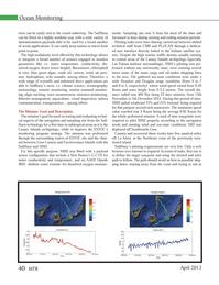 Marine Technology Magazine, page 40,  Apr 2013 Fuerteventura island