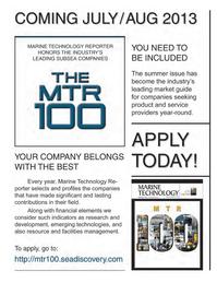 Marine Technology Magazine, page 48,  Apr 2013