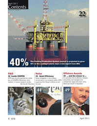 Marine Technology Magazine, page 4,  Apr 2013 Petrobras