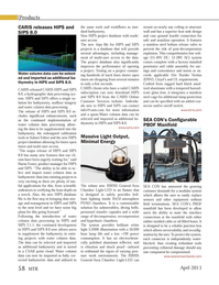 Marine Technology Magazine, page 58,  Apr 2013 hydrographic data processing sys-tem
