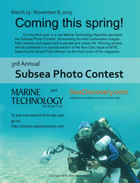 Marine Technology Magazine, page 64,  Apr 2013