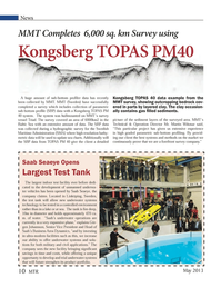 Marine Technology Magazine, page 10,  May 2013
