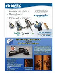 Marine Technology Magazine, page 15,  May 2013