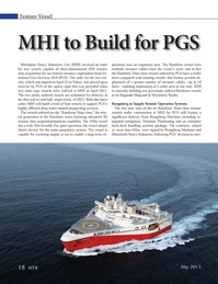 Marine Technology Magazine, page 18,  May 2013